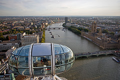 London from the Eye